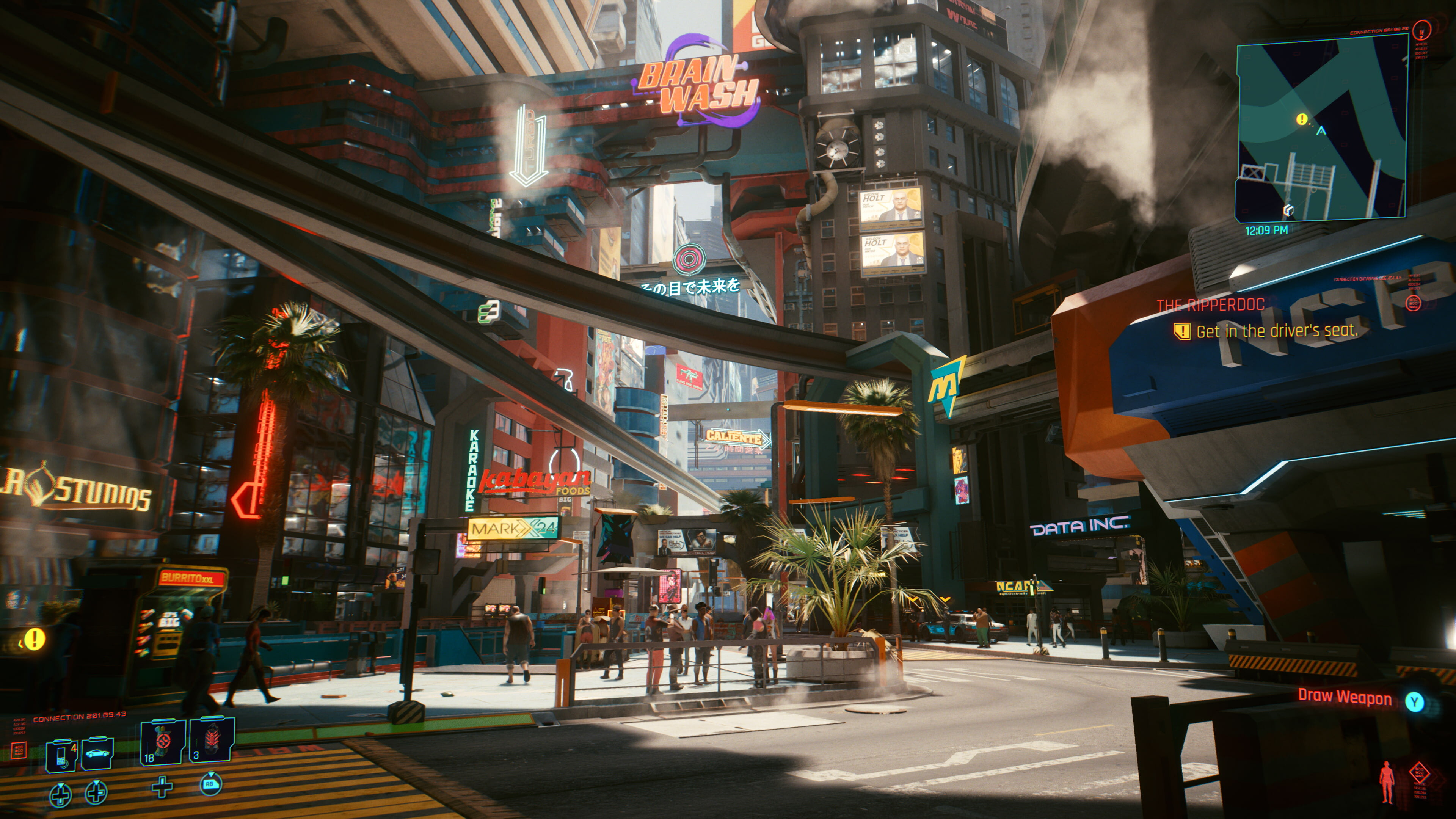 《赛博朋克2077》4K/RTX光追宣传片 画面太美了