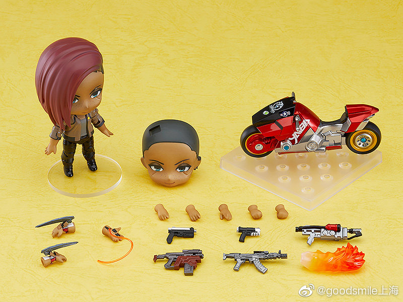 GSC推出《赛博朋克2077》主角V男/女性粘土人 售价490元