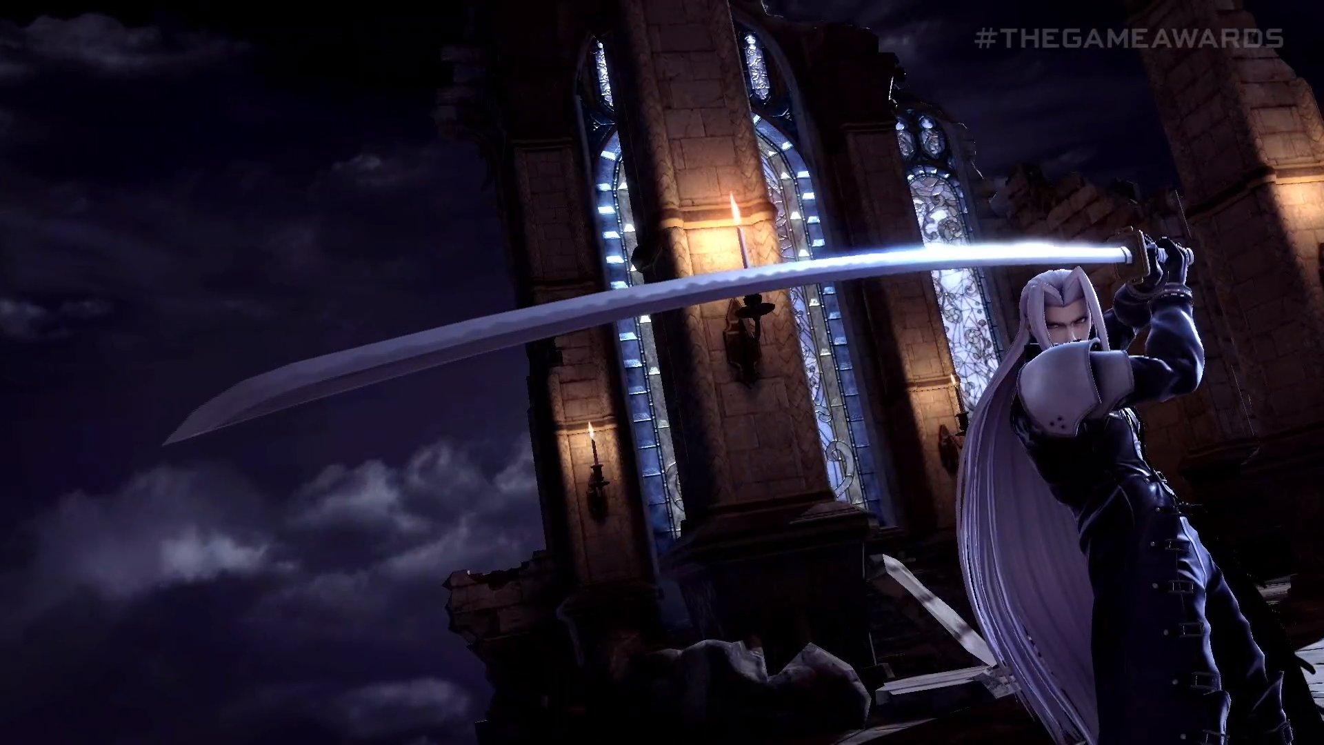 《FF7》人气角色萨菲罗斯加入《任天堂全明星大乱斗》