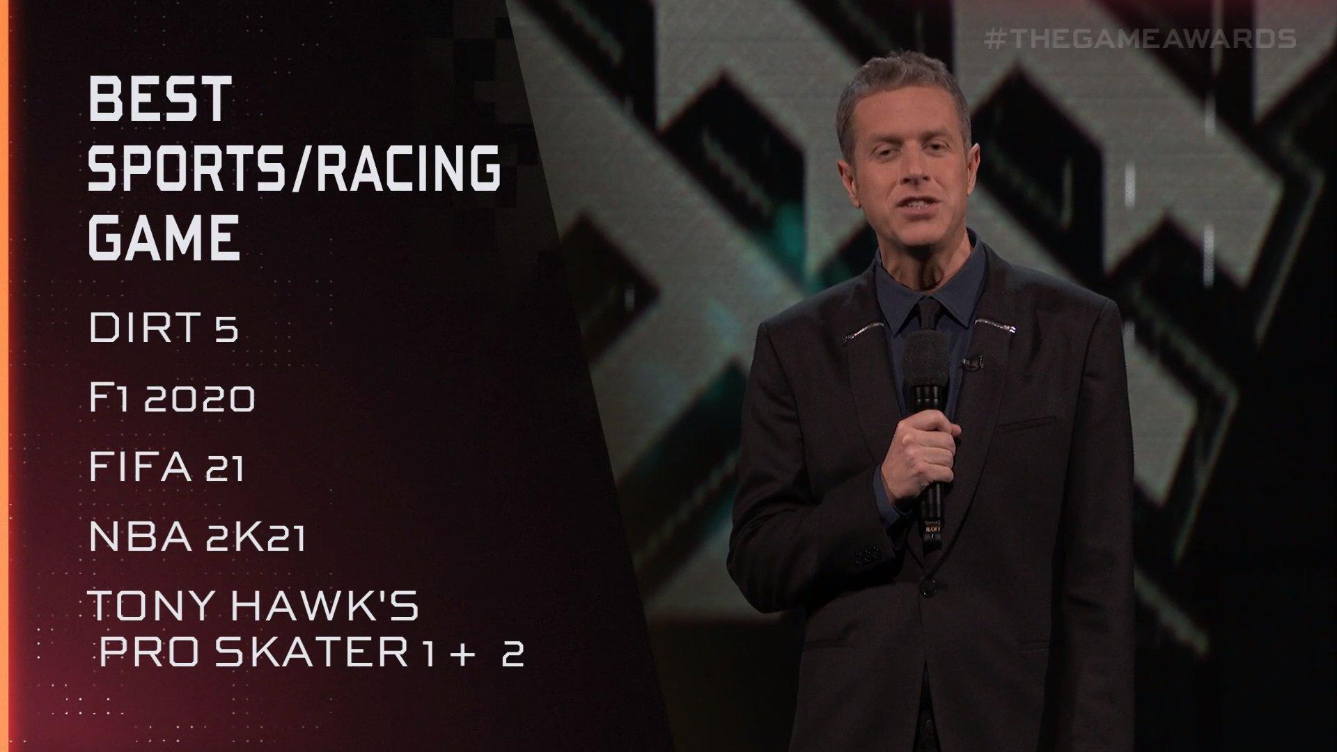 TGA 2020:《托尼霍克职业滑板1+2》获最佳体育游戏