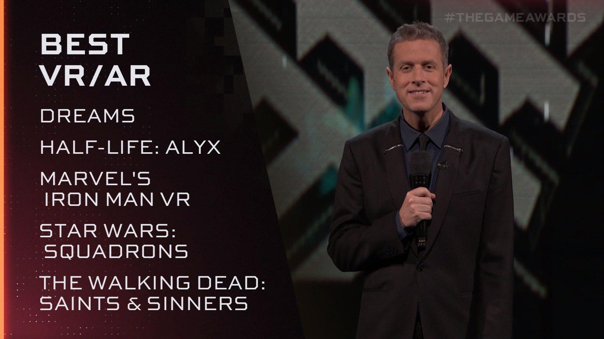 TGA 2020:《半条命:Alyx》斩获最佳VR游戏