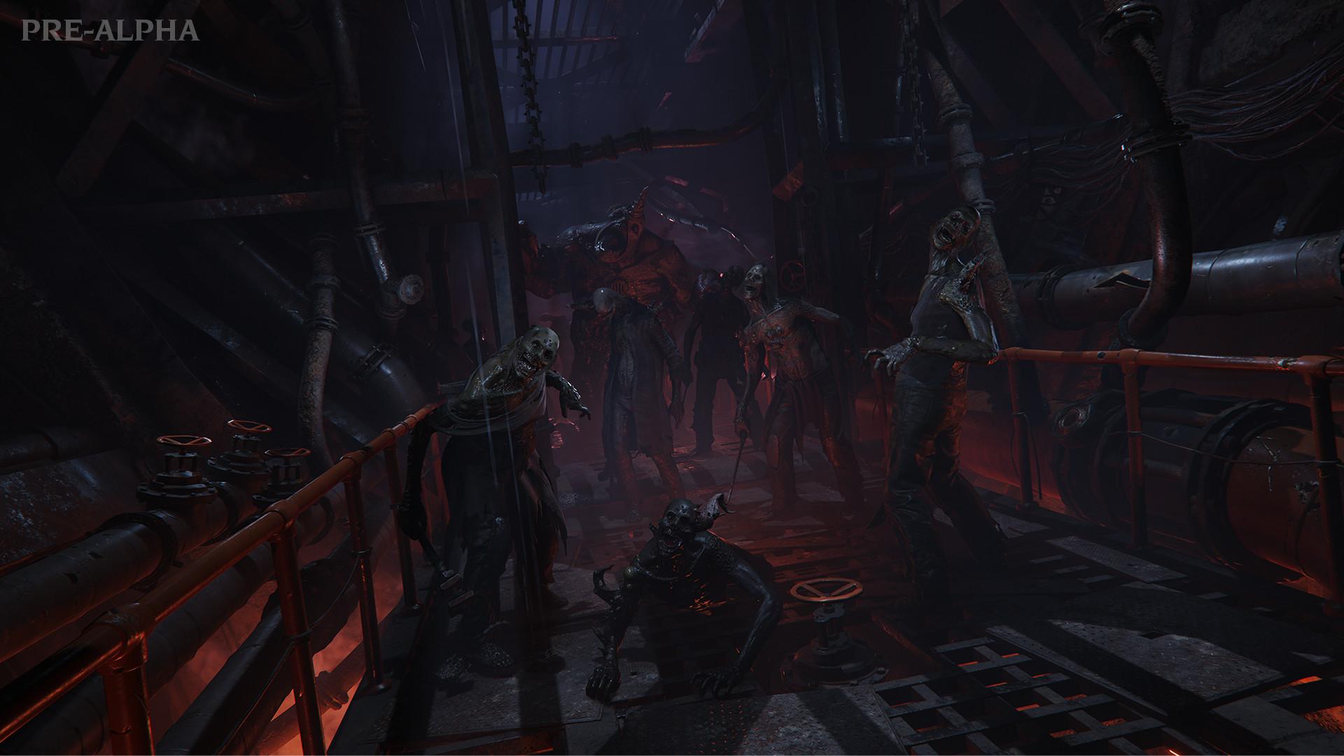《战锤40K:暗潮》新实机预告发布 4人合作抵御黑暗