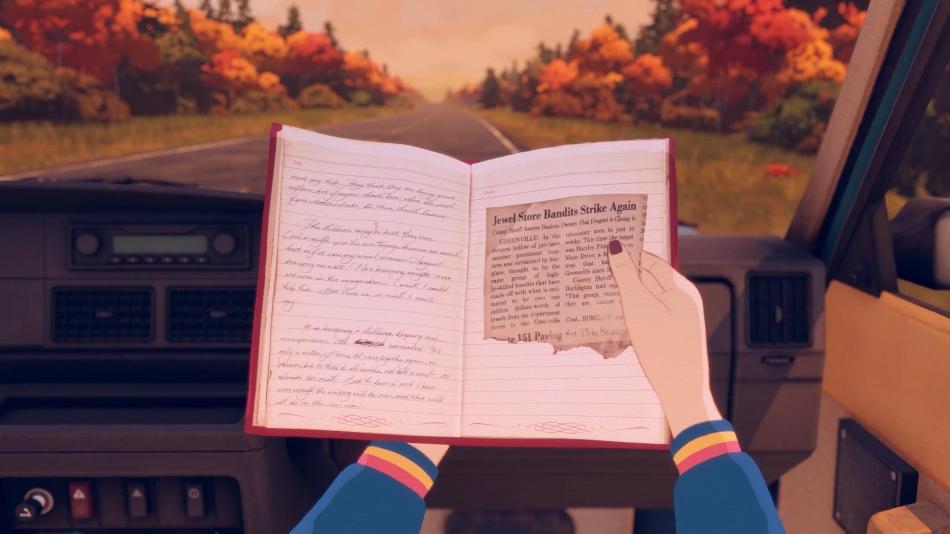 互动探索游戏《Open Roads》发布 母女公路之旅