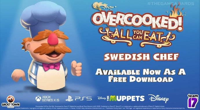 TGA 2020:《胡闹厨房全都好吃》加入新角色瑞典主厨