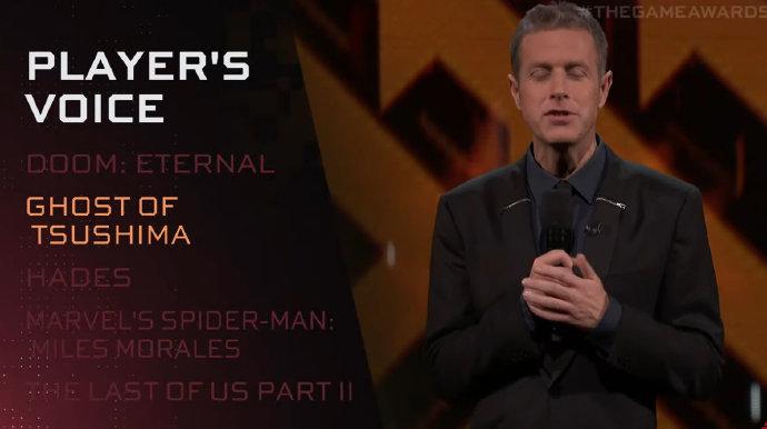 TGA 2020:《对马岛之鬼》获得年度玩家之声奖