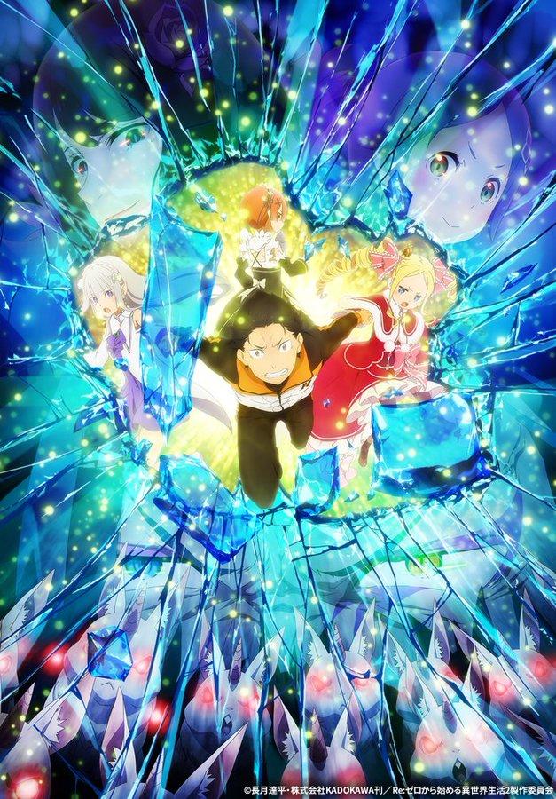 TV动画《Re从零开始的异世界生活》第二季后篇明年1月6日放送