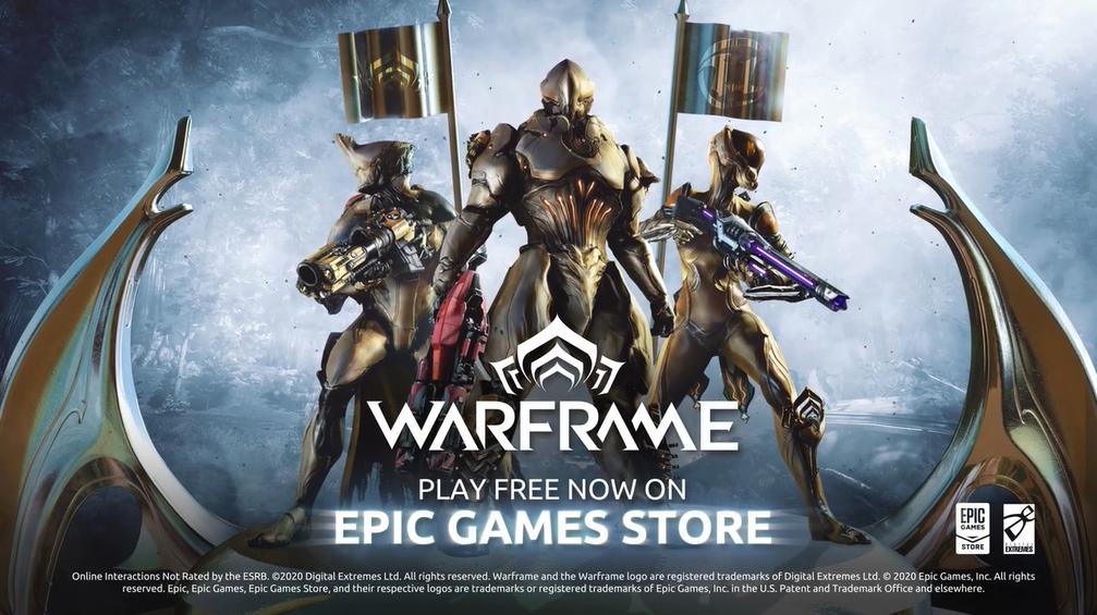《星际战甲》登陆Epic商店 限时免费领取武器组合包