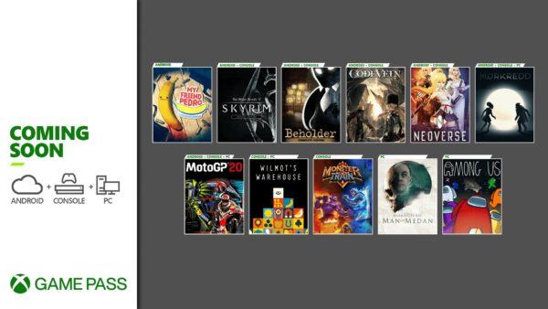 XGP 12月新增游戏公开:《上古卷轴5》、《我们之中》等
