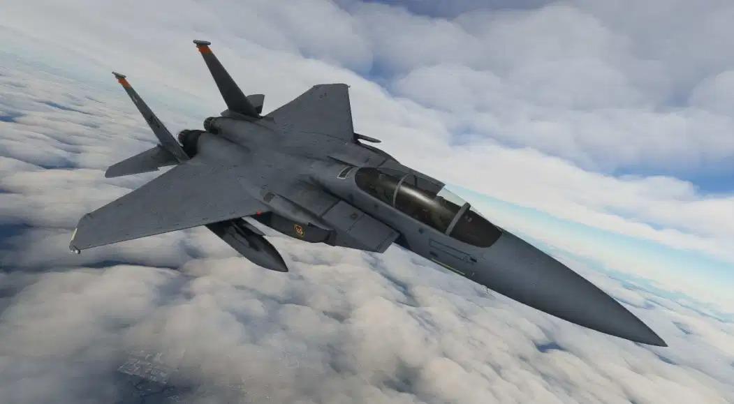 《微软飞行模拟》F-15附加包首个视频及新截图展示