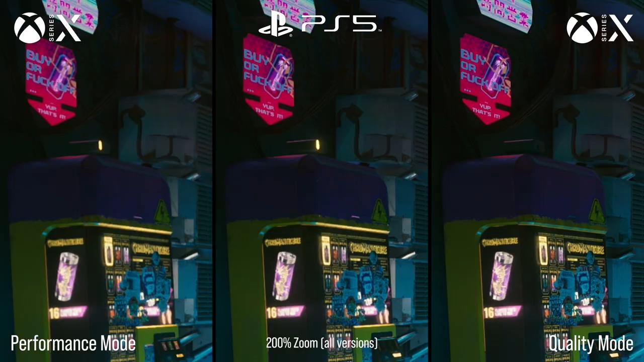 《赛博朋克2077》XSX版画质最牛 优势非常大