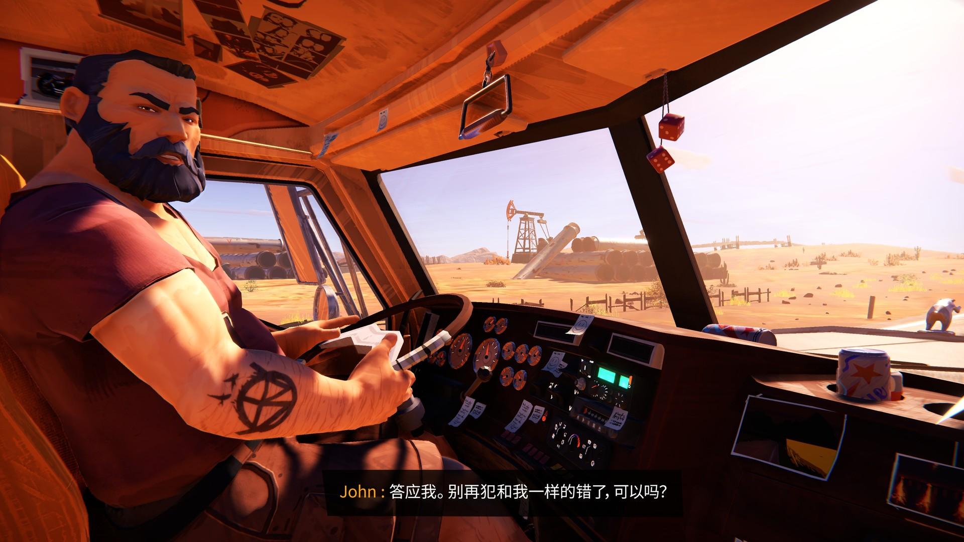 悬疑冒险游戏《九十六号公路》上架Steam 自带中文