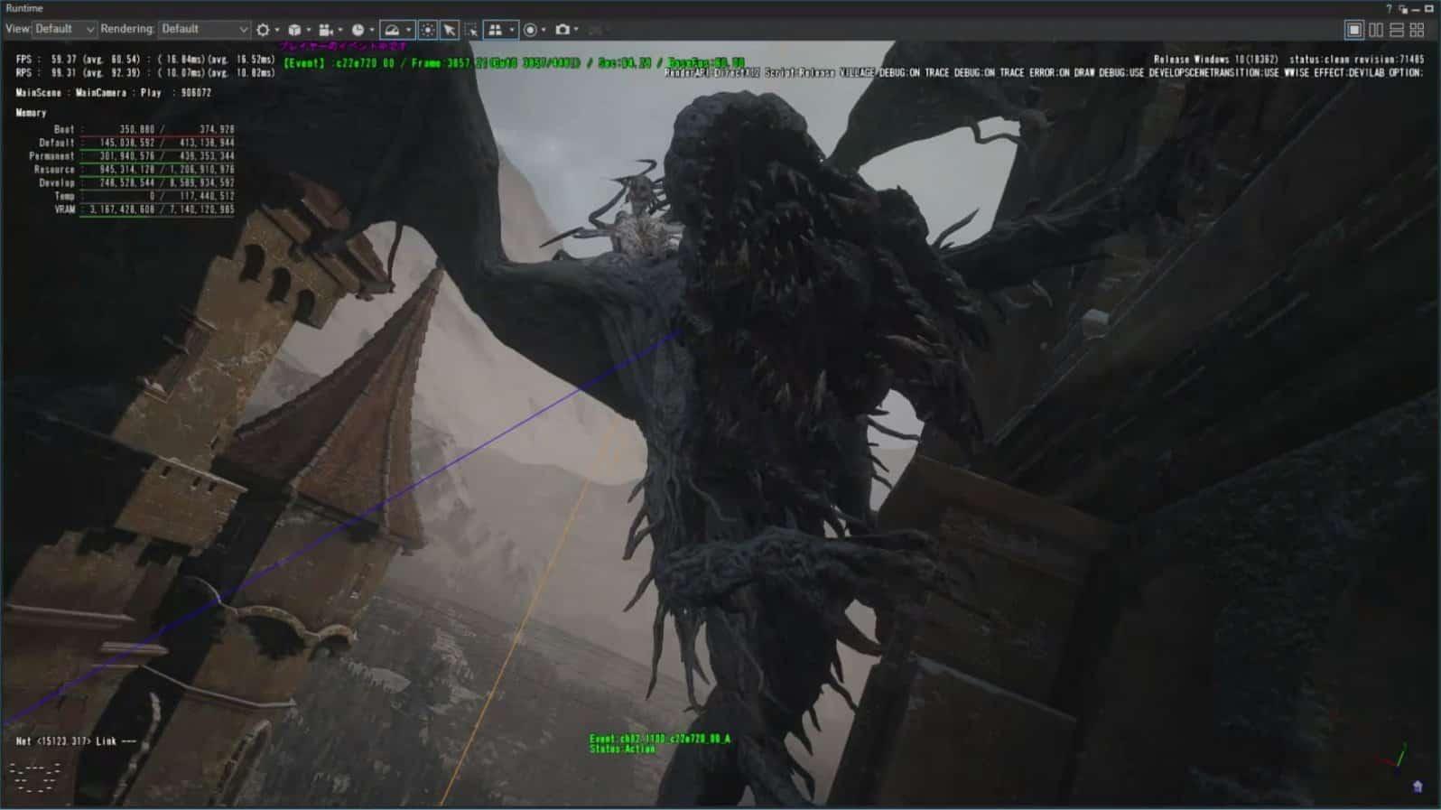 《生化危机8》大量内部开发版本截图泄露