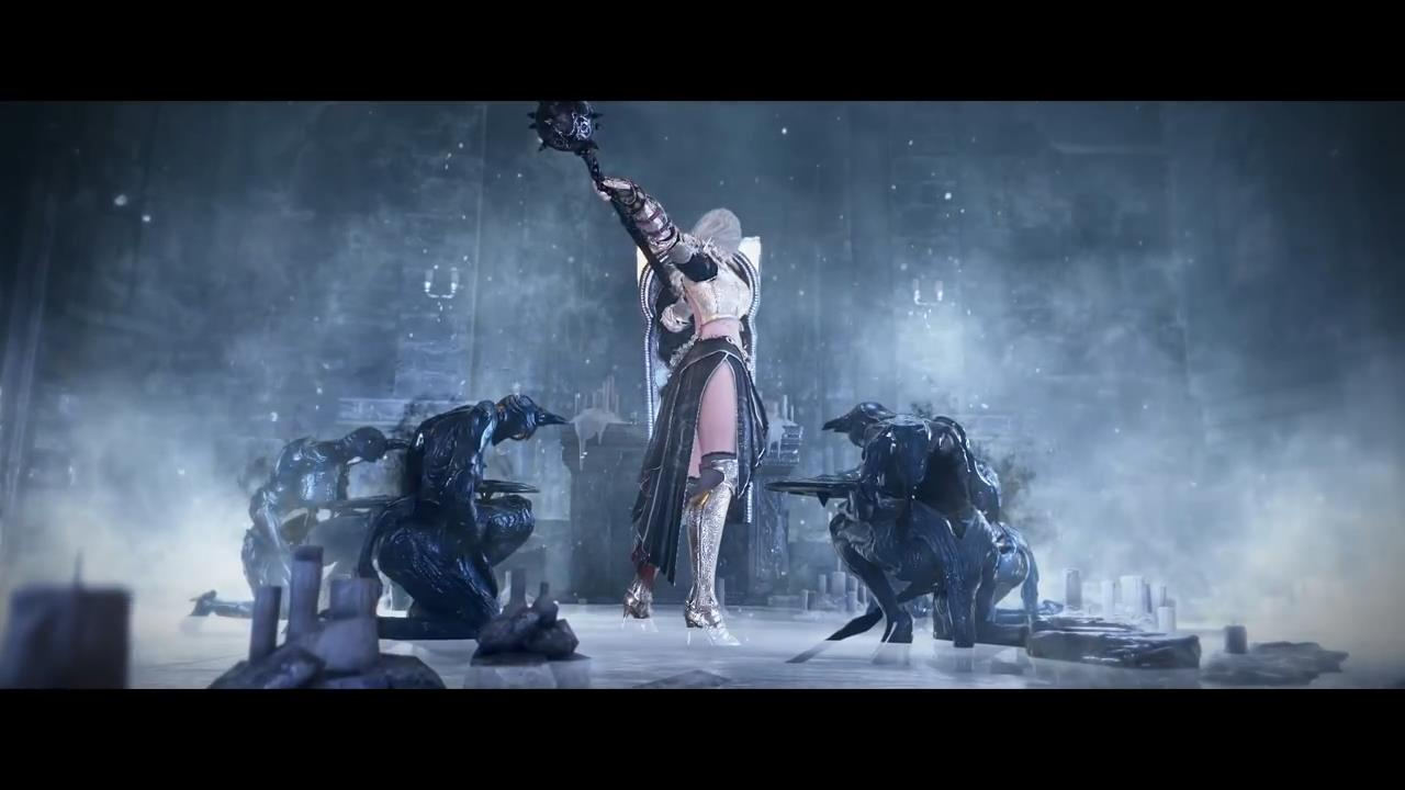 《黑色沙漠》新角色NOVA预告演示 金发美女登场