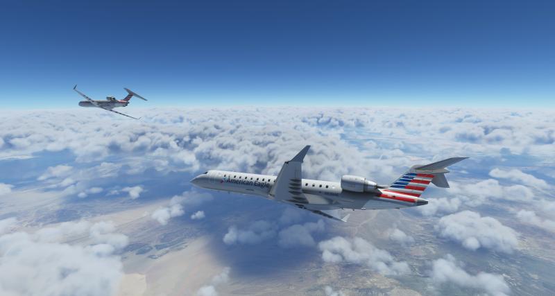 《微软飞行模拟》新一批展示图:美国鹰细节亮相