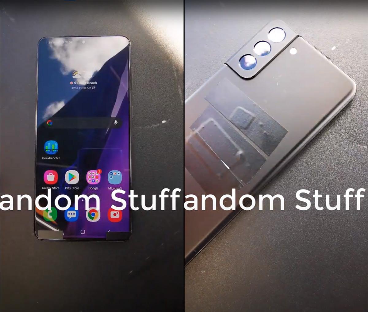三星Galaxy S21屏幕或不再是双曲屏 但有超级窄边框