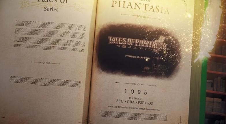 万代公开《传说》系列25周年纪念影像 悲伤的泪水化为剑刃