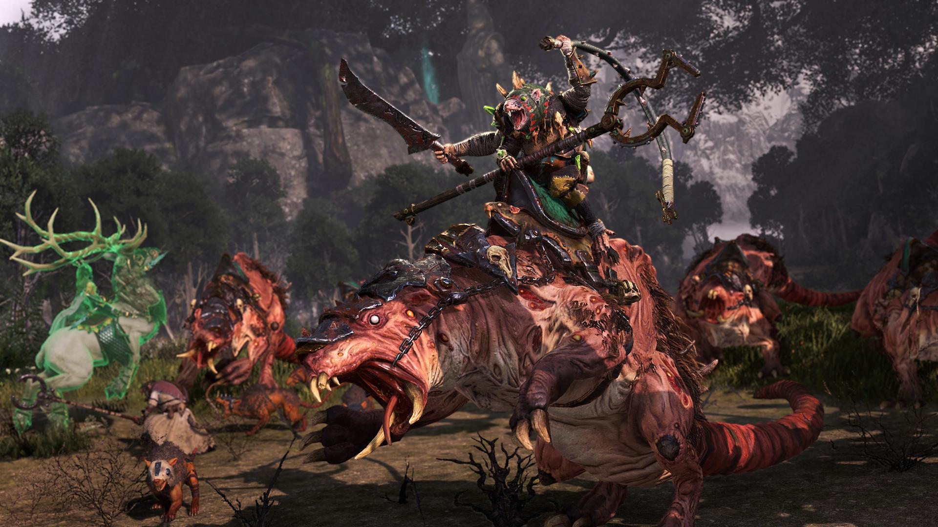 《全面战争:战锤2》DLC评测:归来的木精灵与鼠人新玩法