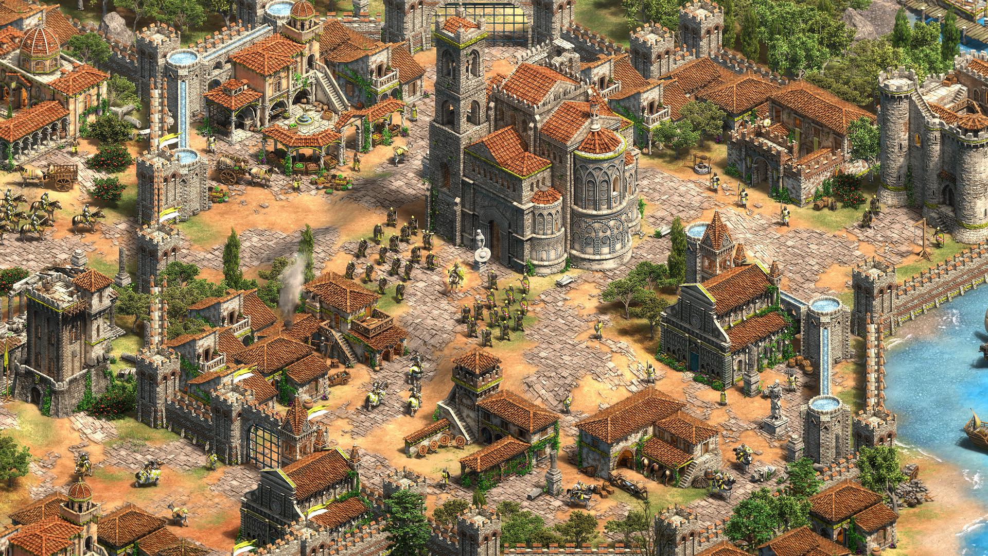 《帝国时代2:决定版》新DLC西方霸主公布 新文明新战役