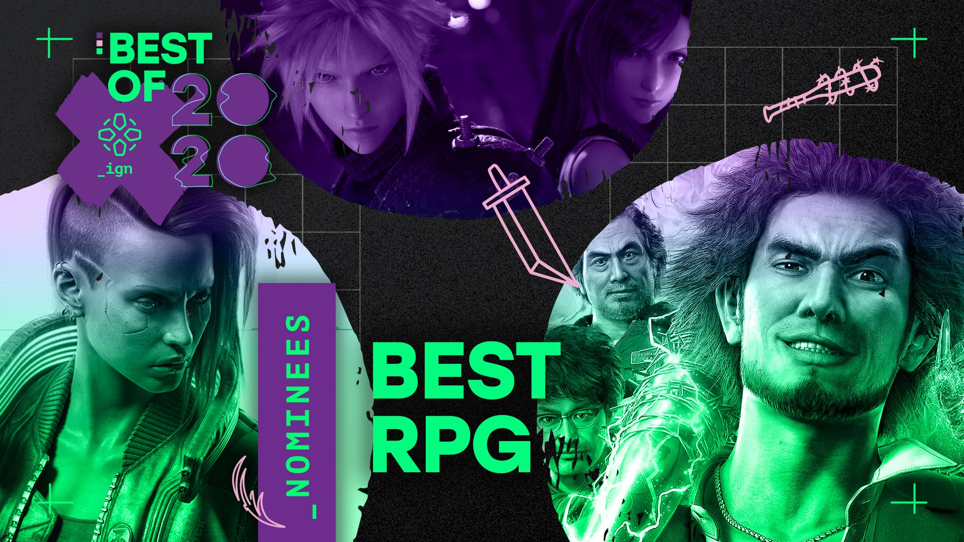 IGN 2020游戏大奖提名公布 《最后的生还者2》领跑全场