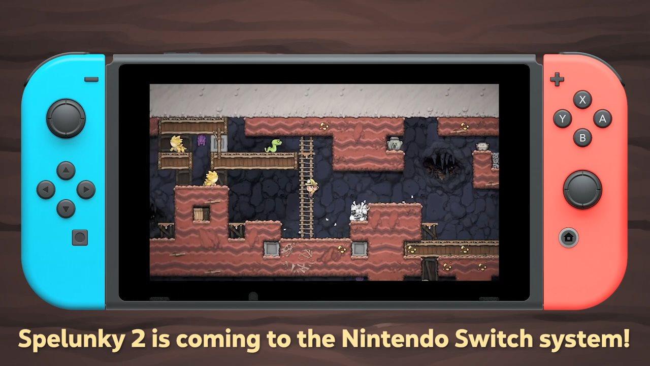 任天堂独立游戏发布会:Sky光·遇、洞穴探险等作