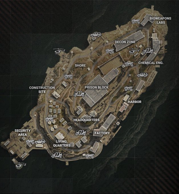 《使命召唤:战区》新地图完整展示 第一赛季即将上线