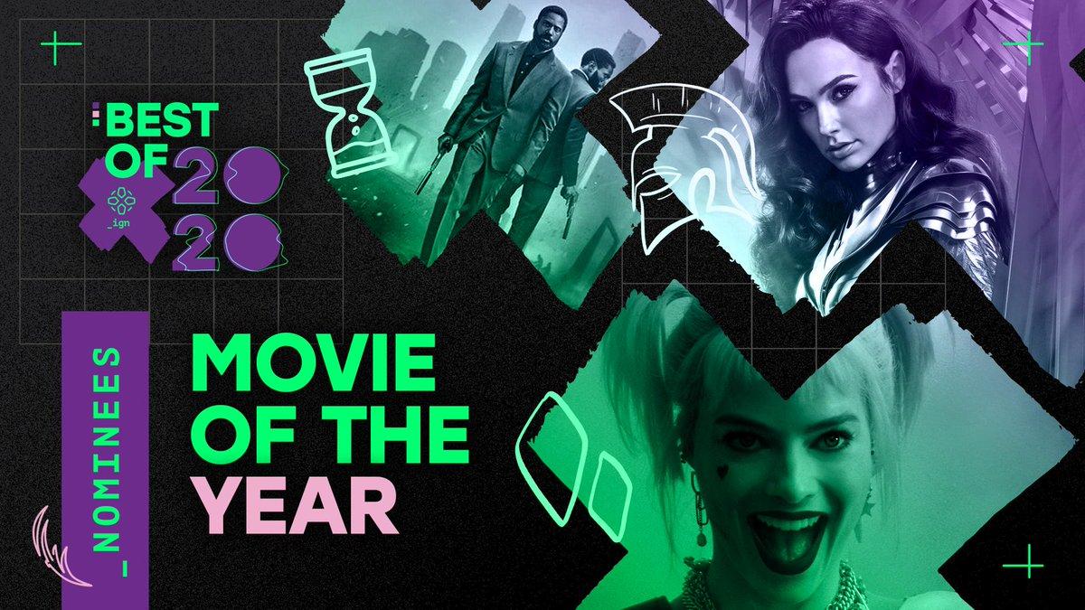 2020年IGN最佳电影提名:《信条》《猛禽小队》入围