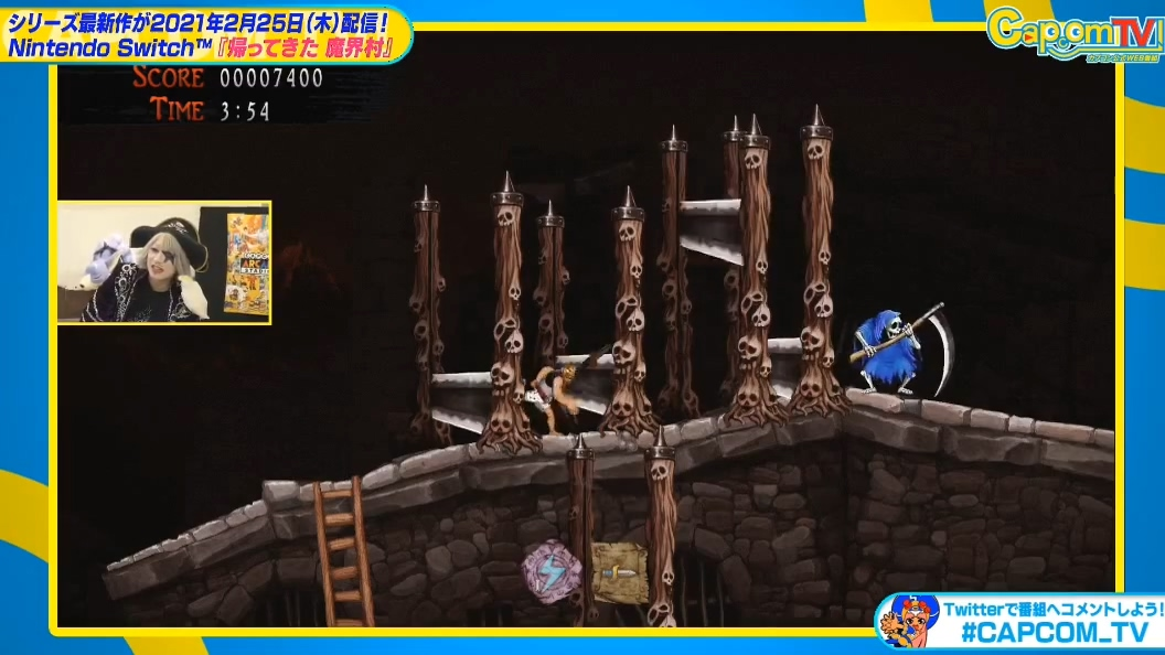 《魔界村Resurrection》实机演示 明年2月登陆NS
