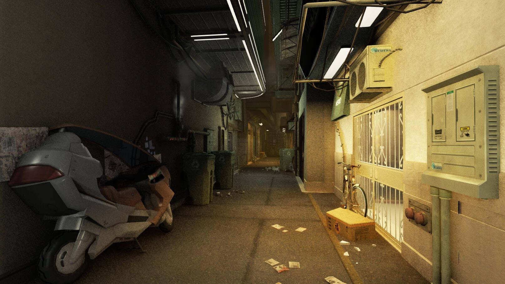 《杀出重围:人类革命》ENBMod光追效果新截图