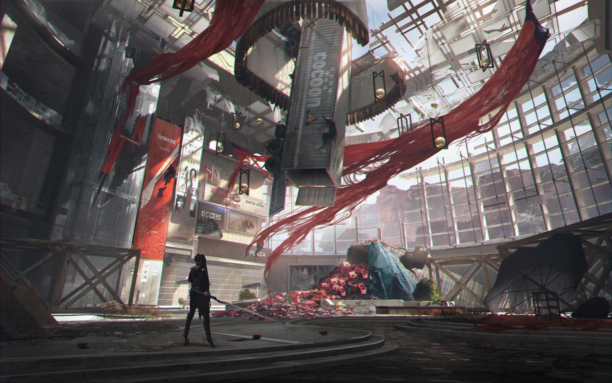 韩国动作新游《Project EVE》全新图设 末日争夺地球