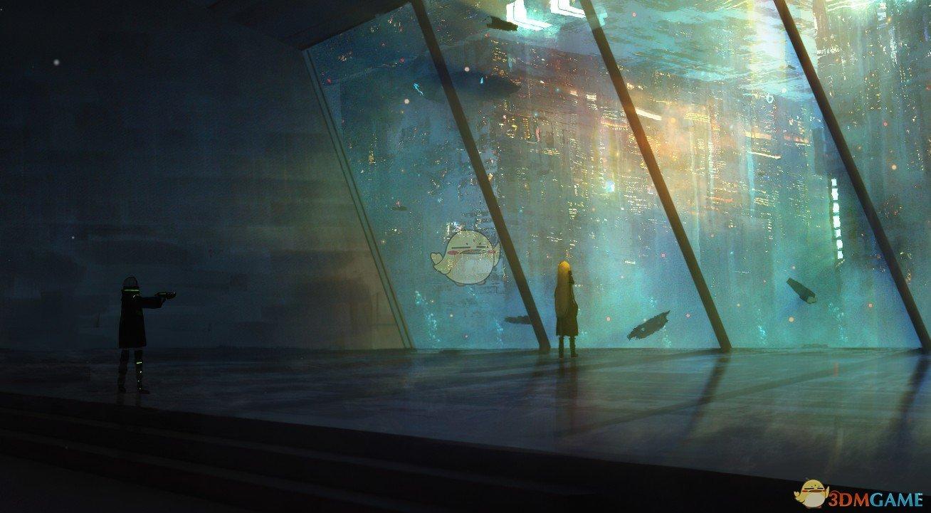 《Wallpaper Engine》海洋与特大都市动态壁纸