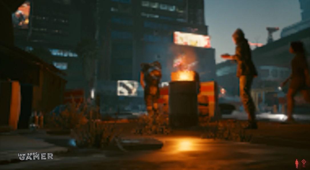 油管频道将《赛博朋克2077》做成了画质超低的《赛博朋克2007》