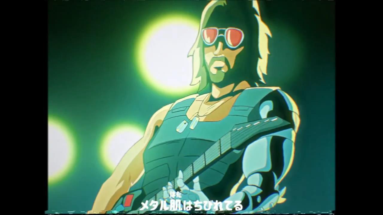 大神制80年代风格《赛博朋克2077》动画 银手酷帅