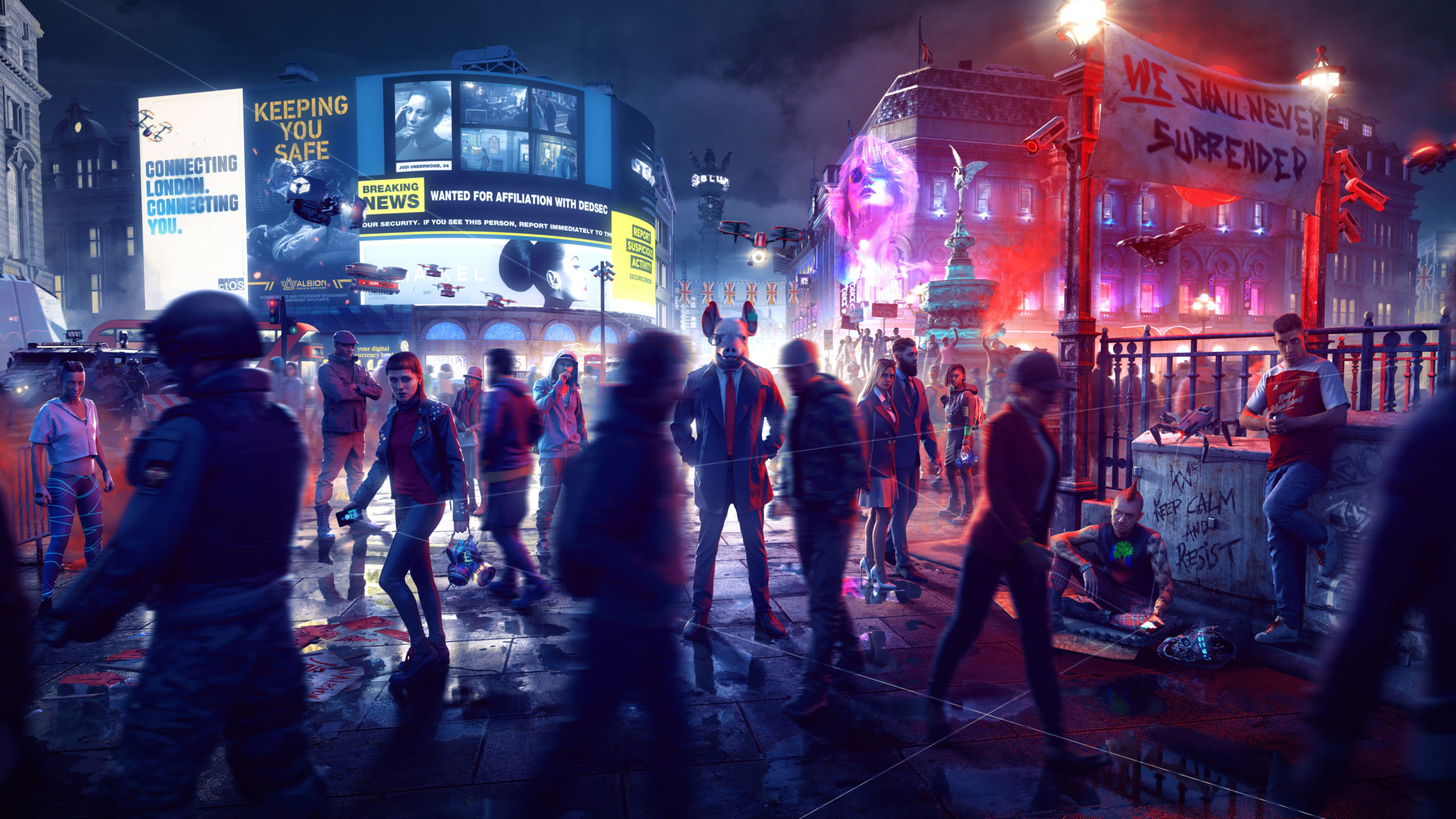 《看门狗:军团》在线模式测试中 还有剧情DLC推出