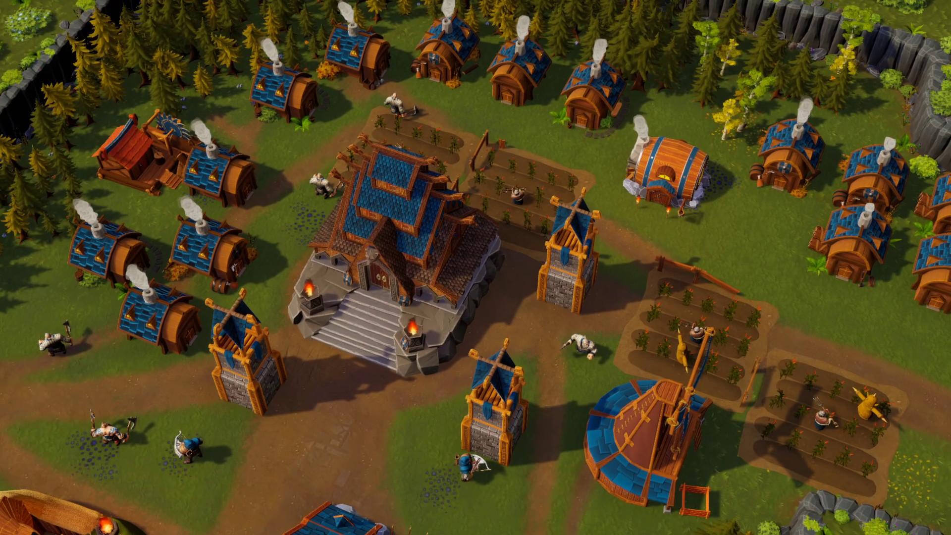 合作RTS《矮人海姆》玩家可邀请好友免费加入游戏