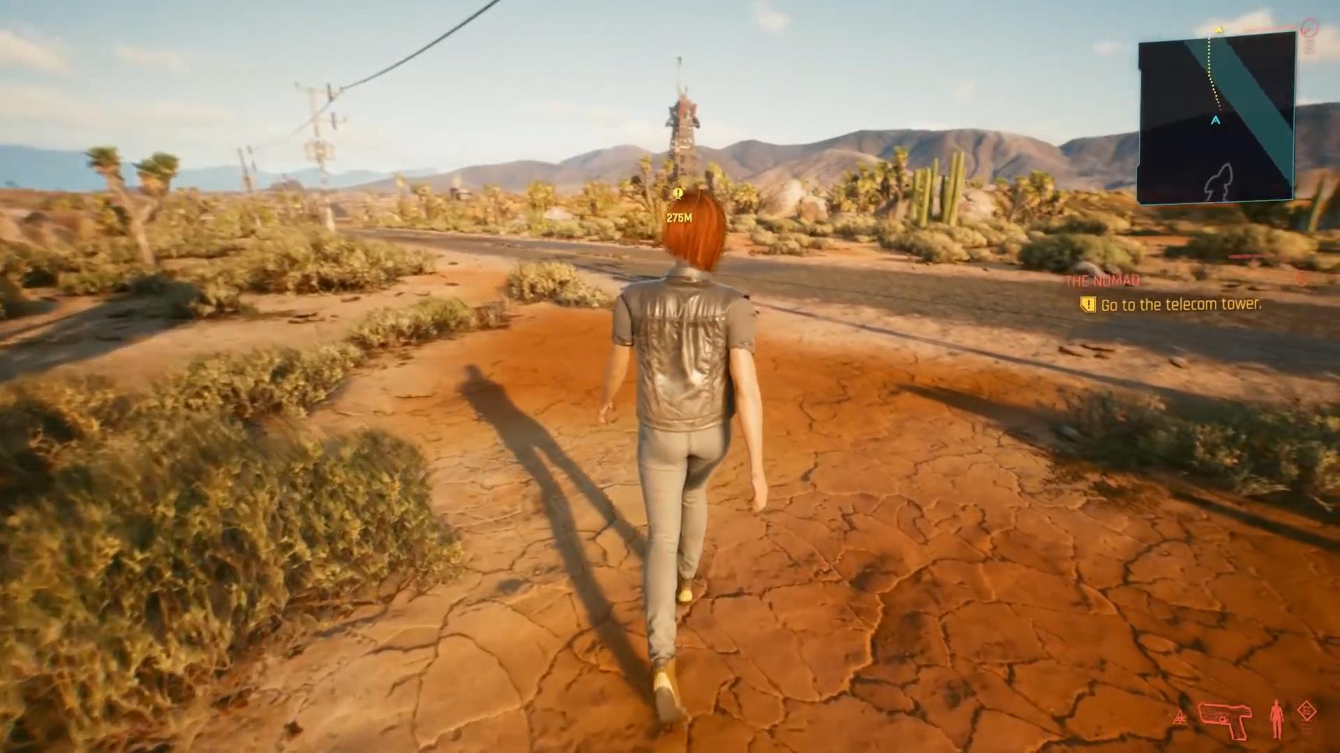 《赛博朋克2077》第三人称演示视频 看女主扭屁股