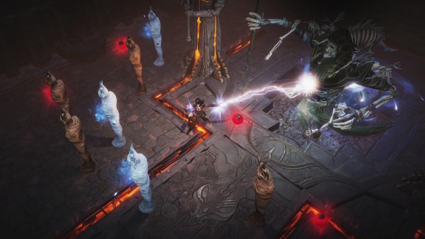 《暗黑破坏神:不朽》试玩报告:正统系列的还原体验