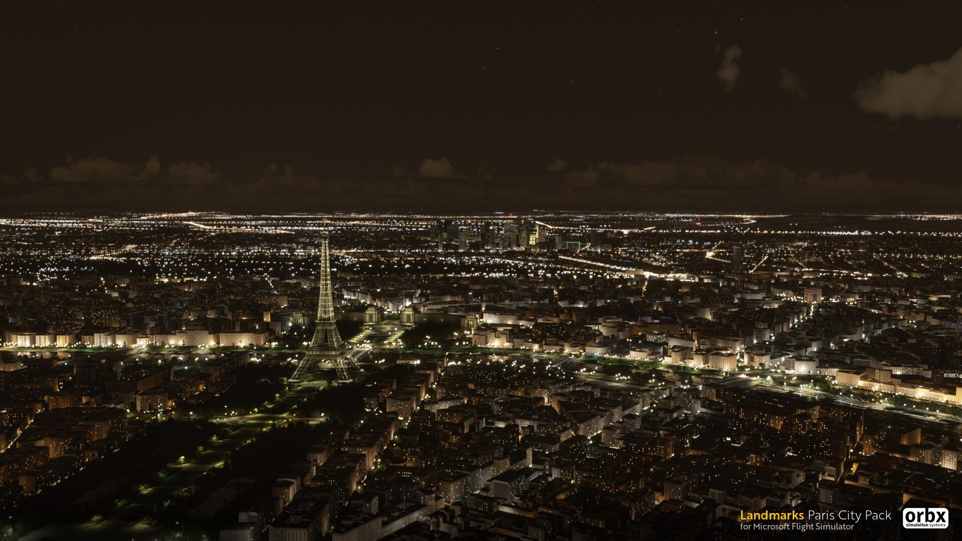 Orbx公布《微软飞行模拟》新插件包巴黎站