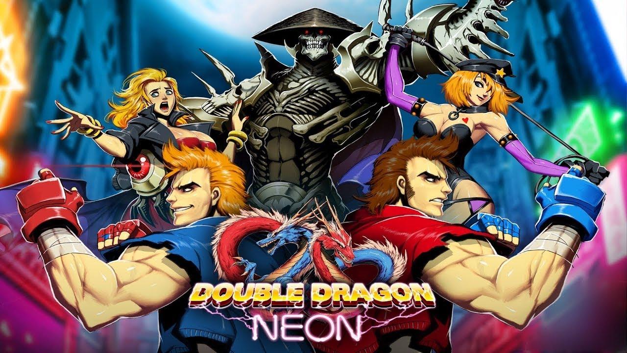 双打佳作《双截龙:彩虹》正式发售Switch版