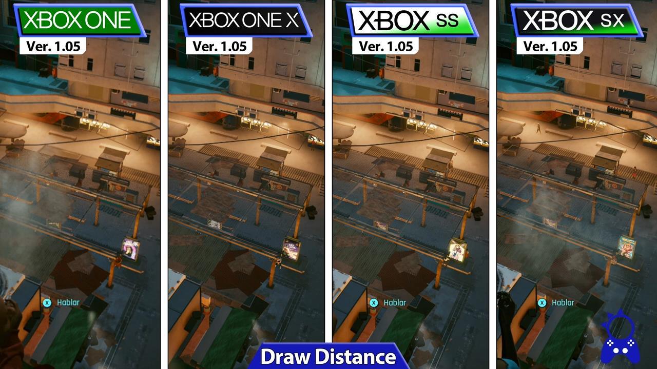 《赛博朋克2077》1.05更新主机版对比 性能改善明显