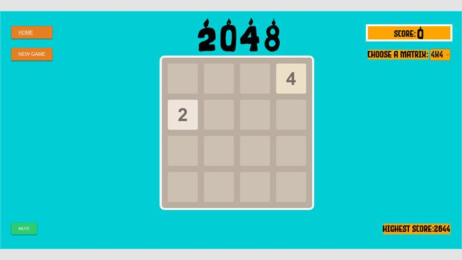 微软商城喜加一:《2048 For Win10》现可免费领取