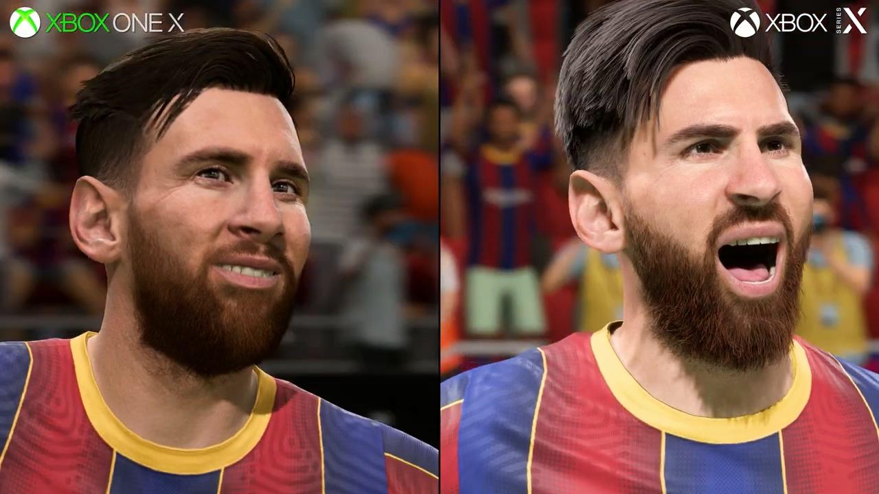 《FIFA 21》新主机版测试 毛发效果简直帅呆了