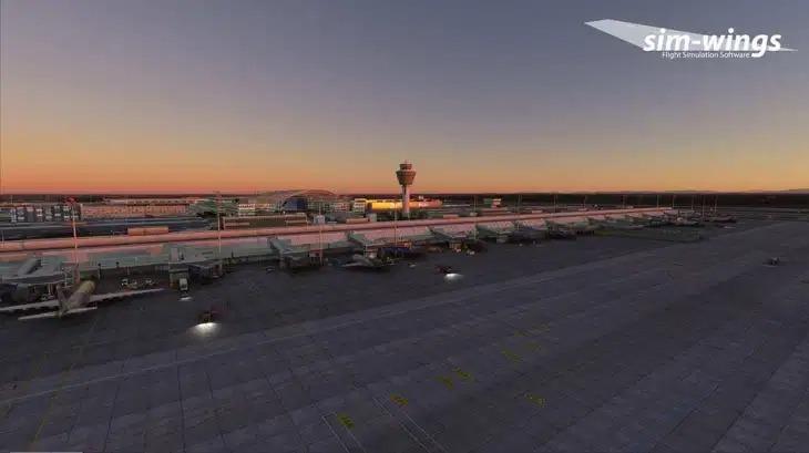 Sim-Wings推出《微软飞行模拟》慕尼黑机场插件包
