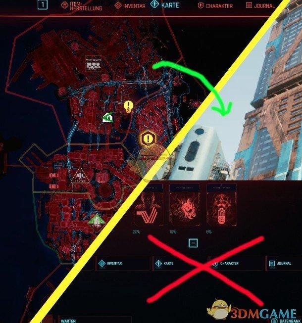 《赛博朋克2077》快捷地图键补丁