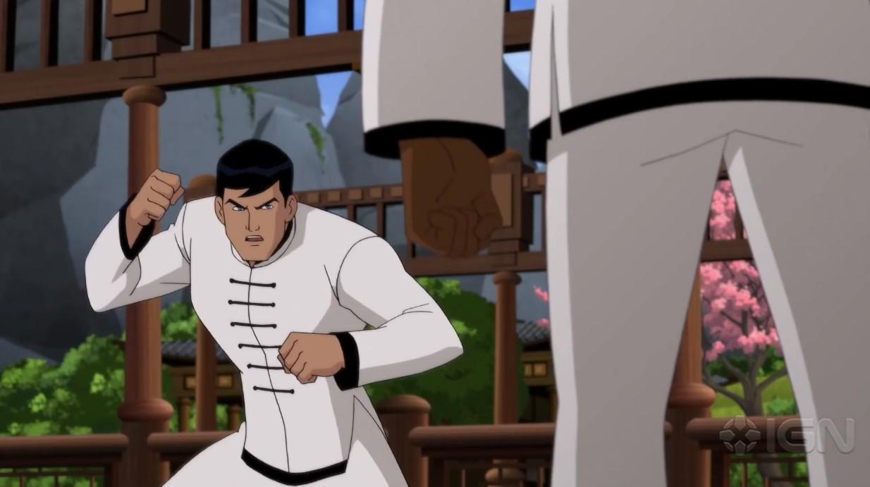 DC动画「蝙蝠侠:龙之魂」曝新片断 老爷学中国工夫之路