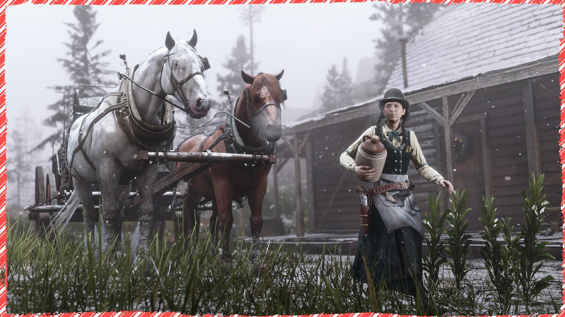 《荒野大镖客OL》圣诞活动开启 可领免费礼物