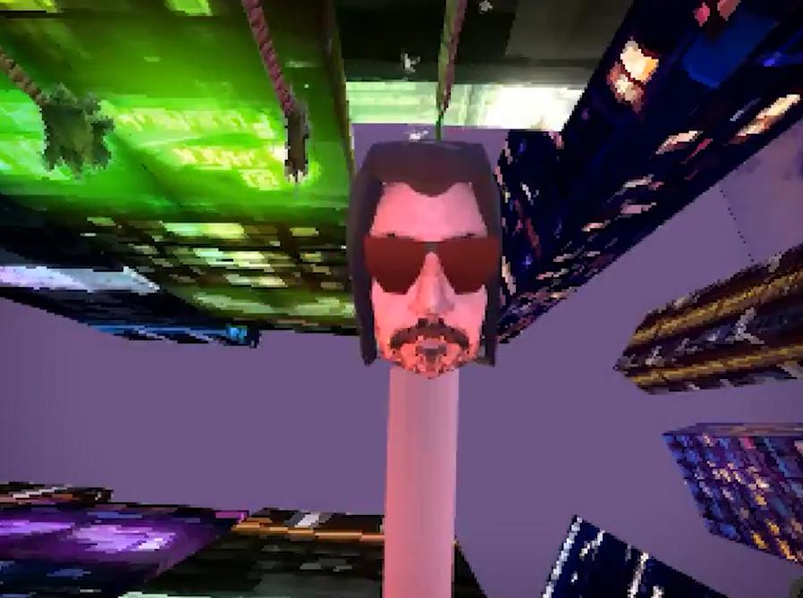 连BUG都还原 PS1版《赛博朋克2077》你见过吗