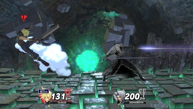 《FF7》萨菲罗斯正式参战《任天堂全明星大乱斗特别版》
