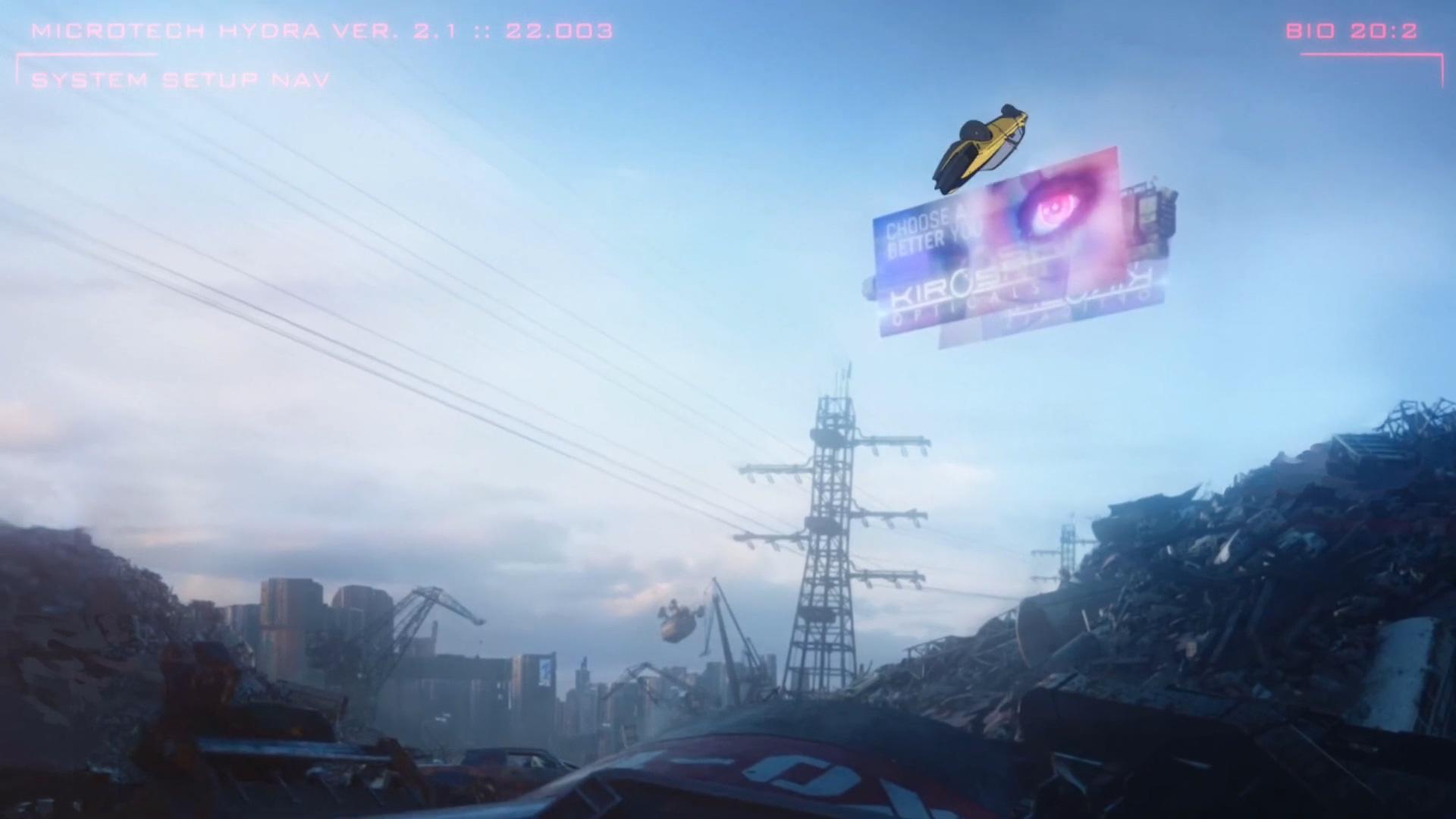 粉丝自制《赛博朋克2077》动画版预告
