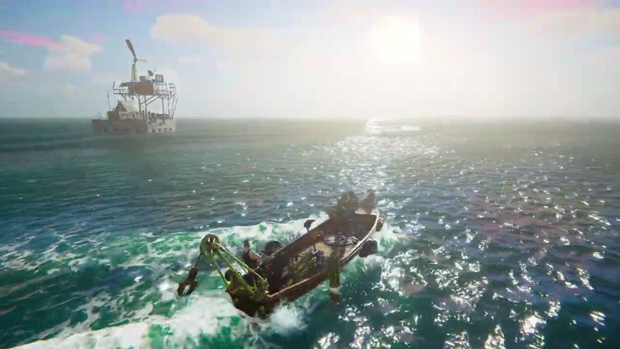 后启示录水世界在线冒险游戏《水时代》面向PC公布