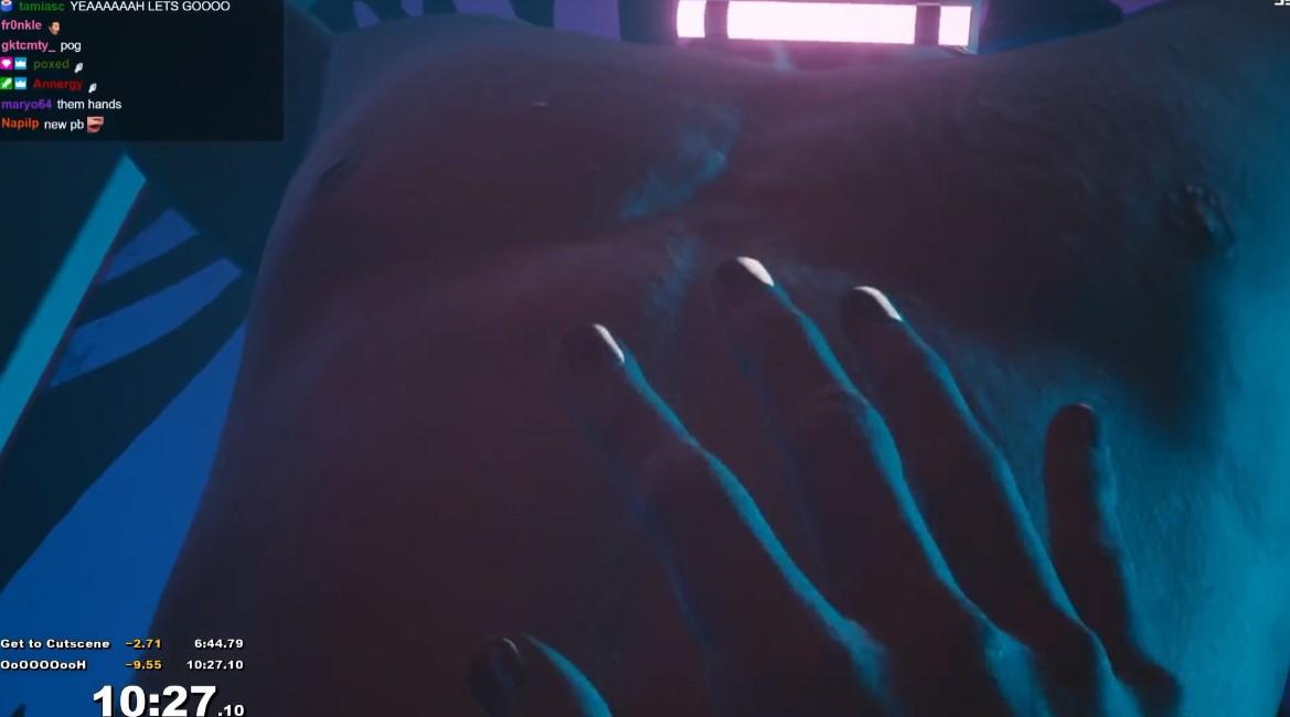 《赛博朋克2077》速通新纪录:11分钟就和人啪啪啪